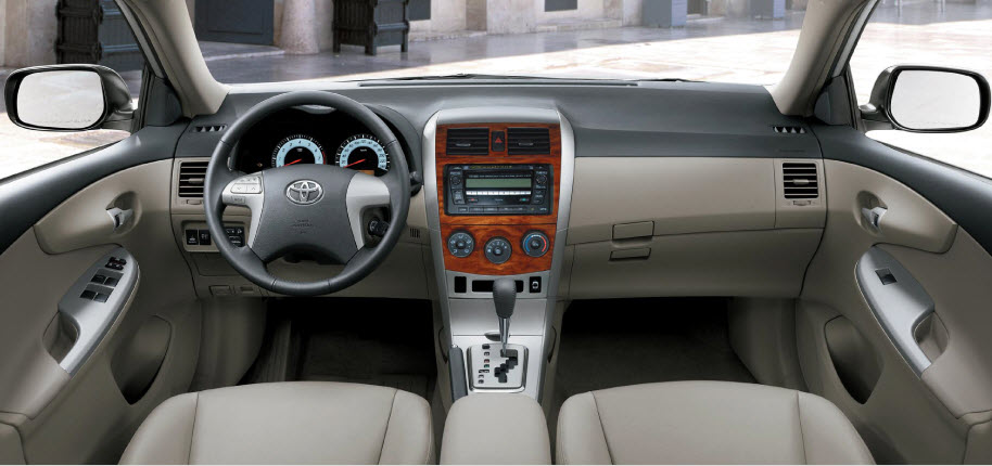New Toyota Corolla 2013 Interior In Pakistan India Dubai Picture Itsmyideas Great Minds