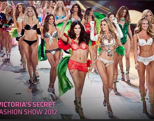 victoria's secret fashionshow 2012 All models picture-images