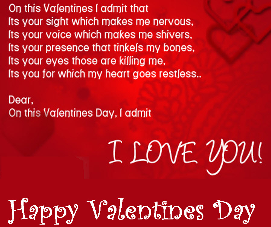i love you valentines day quotes