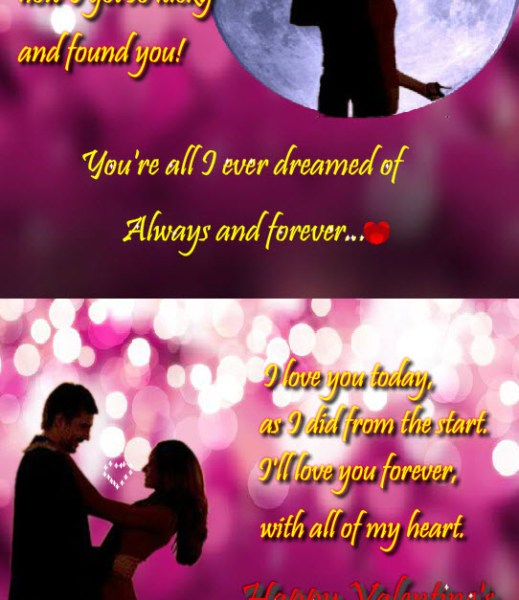 Valentine-Day 2013 romantic-couple picture with love quotes