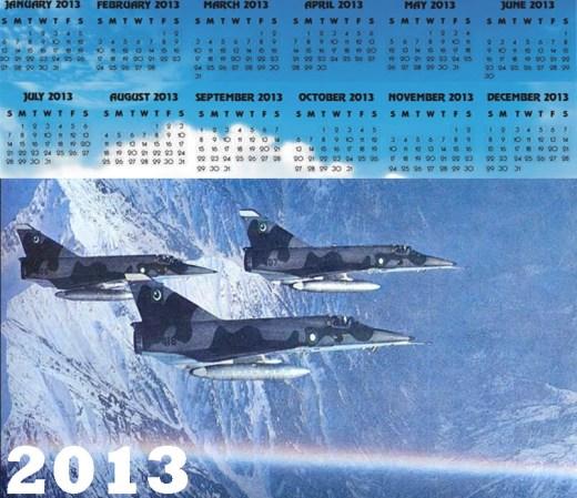 beautiful airforce-army-2013-HD-widescreen-calendar-wallpaper
