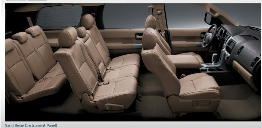 toyota-sequoia-2013-car-4-wheel-interior-sand-beige-luxury-leather-instrument-panel