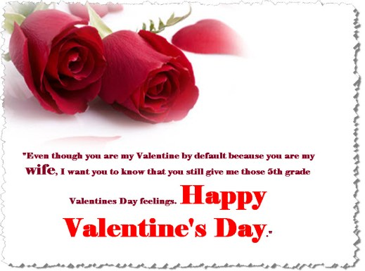 valentine-day-for-wife greeting card with message