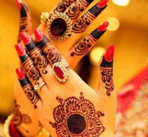 latest indian mehndi styles 2013-2014