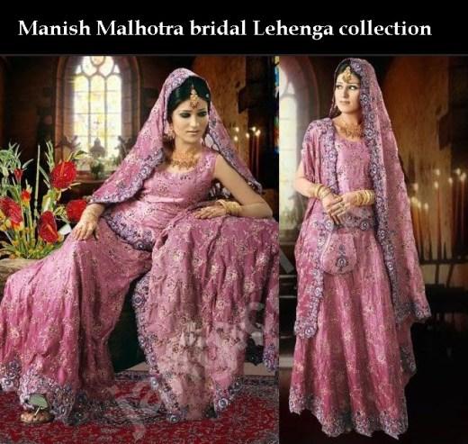 Latest manish malhotra bridal lehenga dress collection for Most expensive wedding dress in india