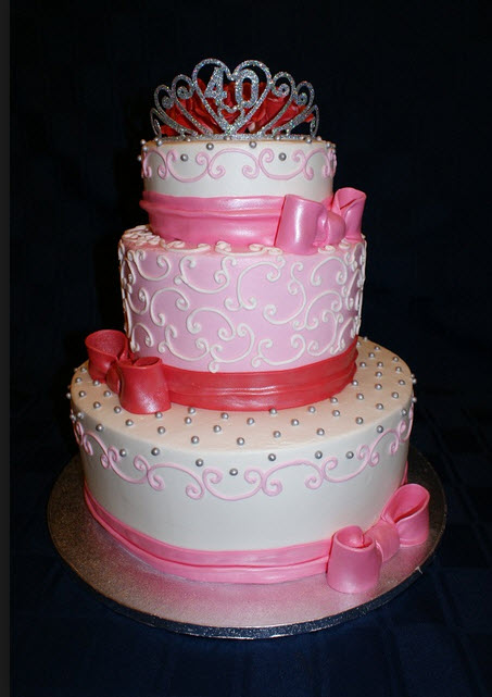 Beautiful Birthday Cake For Baby Girl In Pink Color Itsmyideas
