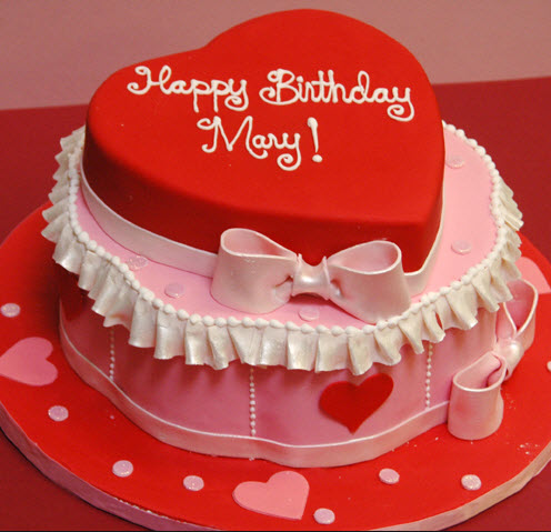 Love-shape-birthday-cake-for-girlfriend picture 2013 2014 ...