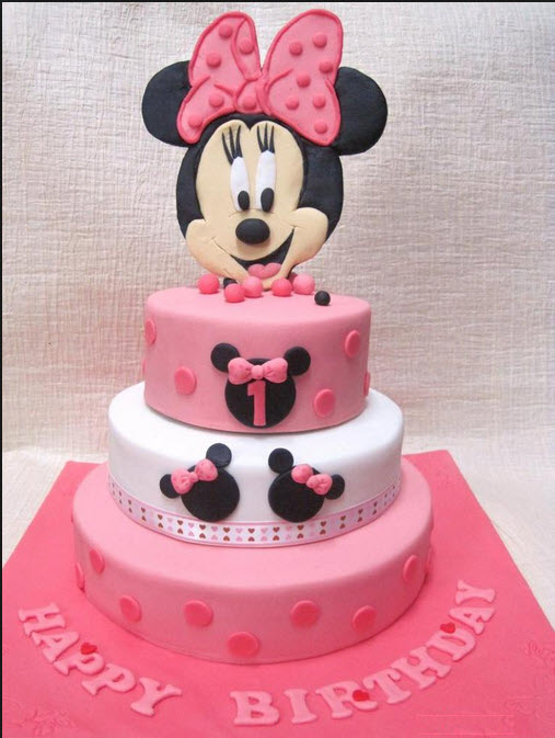 Most Beautiful Birthday Cake Design For Kids Cartoon Shape