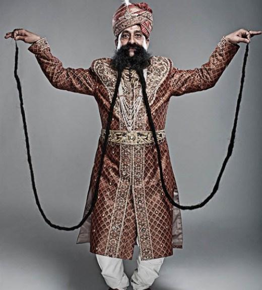 world-longest-moustache-indian-man-picture-2013-2014