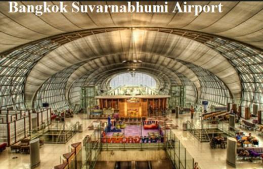 Bangkok Suvarnabhumi Airport Picture-2013 2014