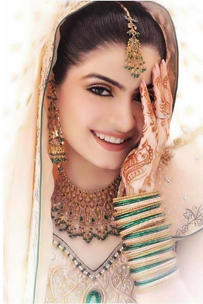 Most Beautiful Girl Of Pakistan In Bridal Girl Picture