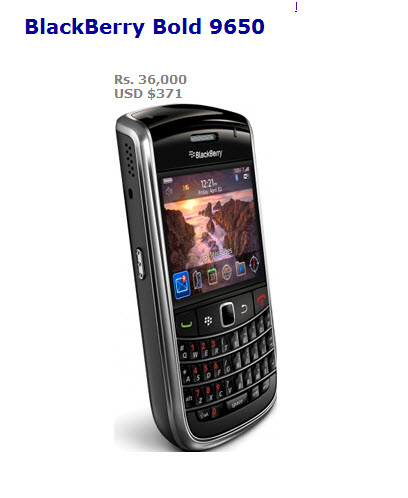 Best-mobile-BlackBerry Bold 9650-for-ladies