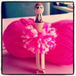 Ik maakte een bikinivrouwtje.