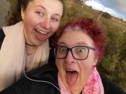En natuurlijk deden we ook een niet zo serieuze selfie.