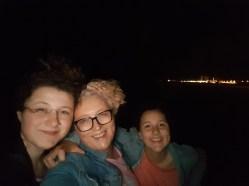Op nachtelijk avontuur.