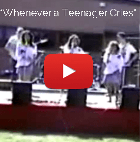 Video - Whenever a Teenager Cries