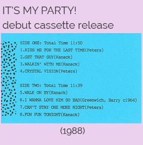 Cassette release playlist
