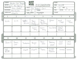"""I'm Bobby's Girl"" Track Sheet"