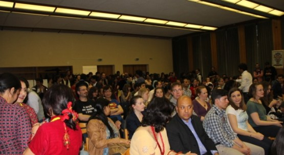 Participants of Nepalese Cultural Evening Germany organized by ITS Nepal