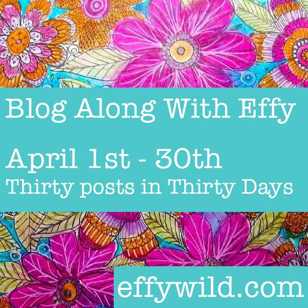 Effy's Blog Challenge