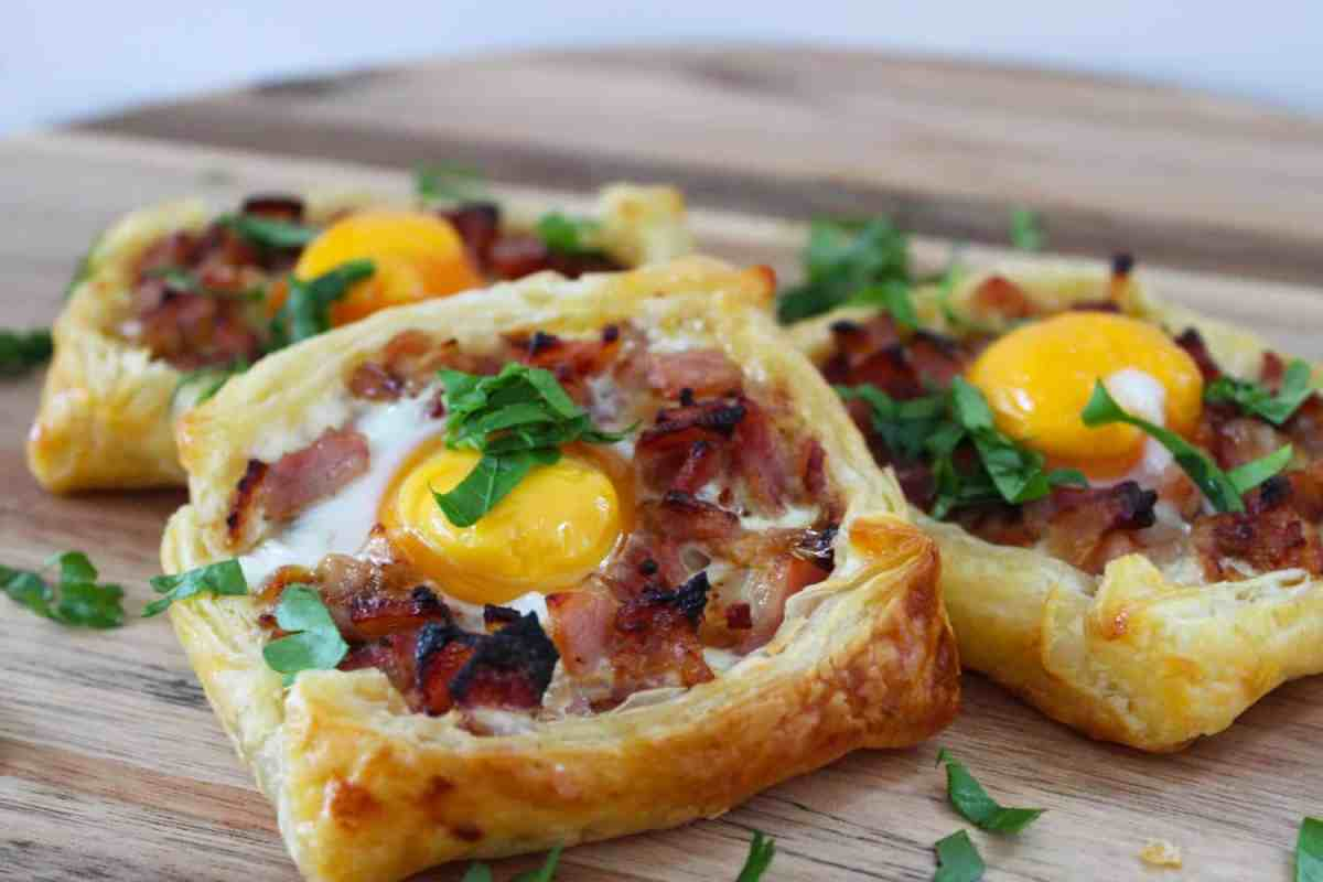 Bacon and Egg Galettes. A recipe by It's Not Complicated Recipes.