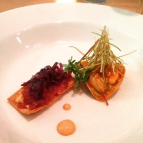 Adventures of a Vegetarian with Gourmet Seafood