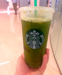 The Latest Starbucks Trend: Iced Matcha