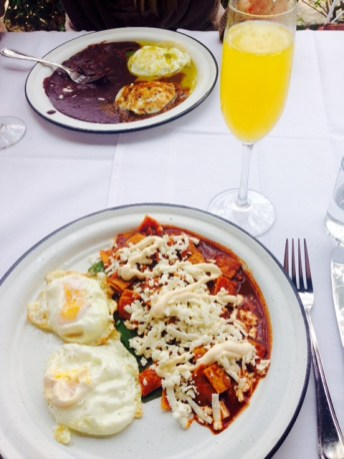 Chilaquiles + Mimosa