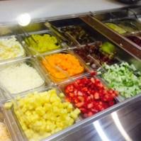 Salata summertime fruit salad one allen center Houston tunnels