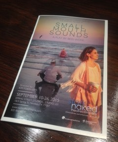 """Small Mouth Sounds"": A play with few sounds"