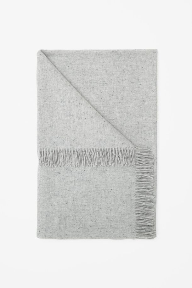 COS Cashmere blanket