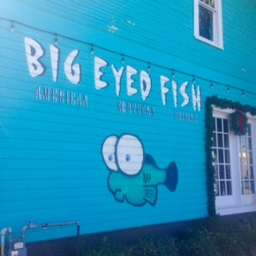 Cozy brunch at Big Eyed Fish