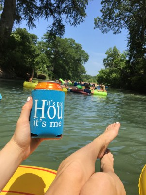 Floating the Guadalupe River