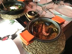 Seafood paella, at last.