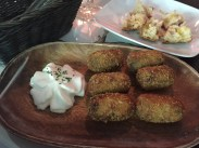 Some sort of cheese poppers