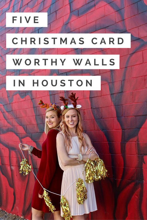 houston christmas murals