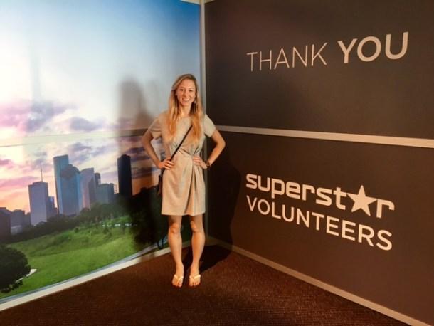 houton host committee super bowl volunteer uniform