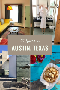 Glamping in Austin Texas at the Lone Star Court