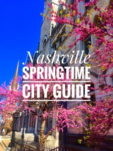 Nashville in the Springtime