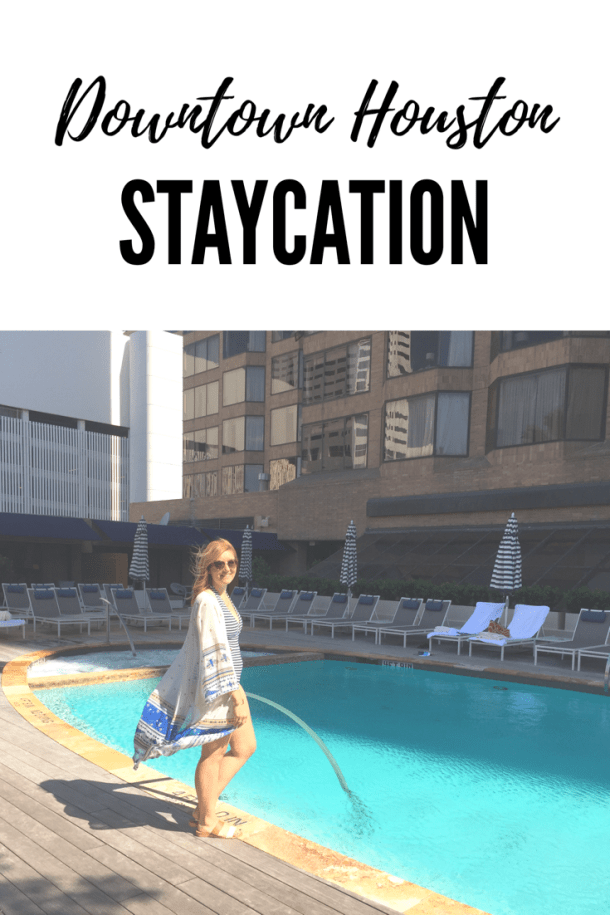 Enjoy a weekend in Downtown Houston with your boyfriend, gal pals, or even your mom! // itsnothouitsme.com