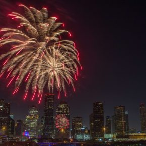 10 Houston Spots to Catch a 4th of July Fireworks Show