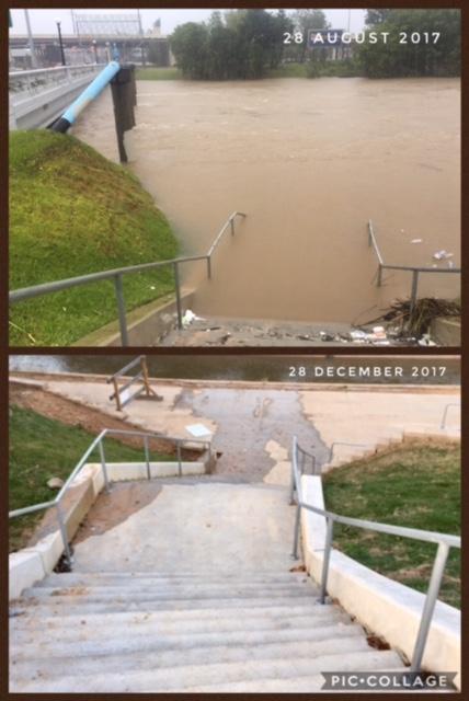 harvey flood photos houston heights