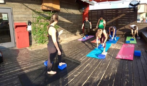 yoga tacos a go go oak forest