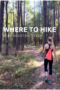 where to hike near houston