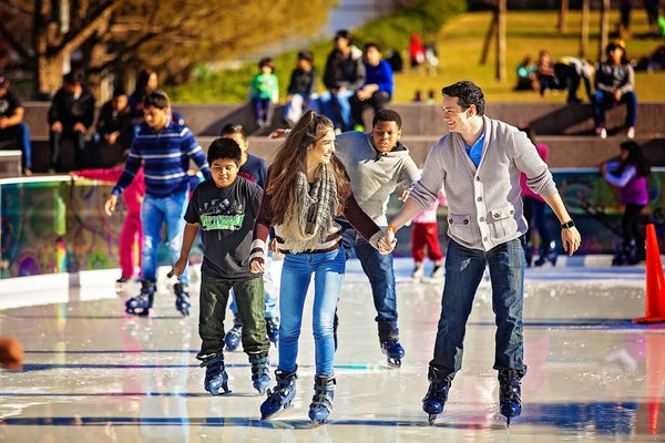 ice skating discovery green