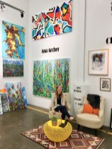 second saturday open studio saywer yards houston