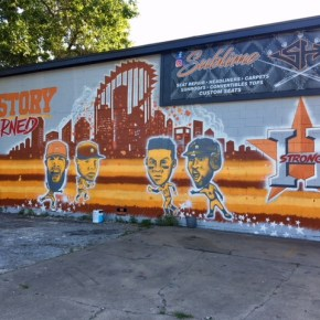 4 Astros Murals to Visit in Houston