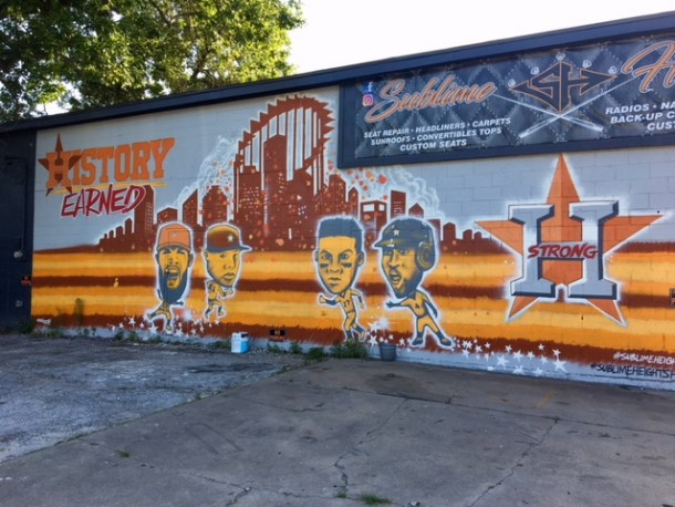 astros mural houston location