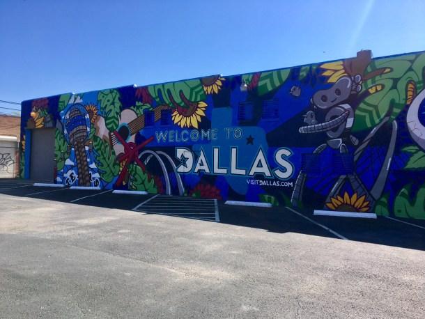Visit Dallas Mural Deep Ellum