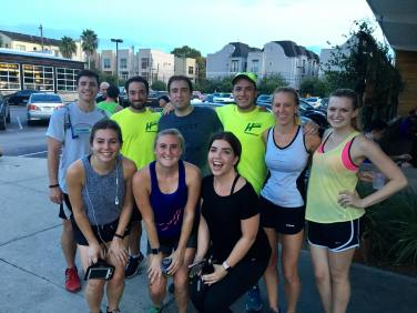 running club beginners houston kung fu